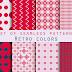 Download Vector Gambar Pola Pattern Romantis Love Valentine