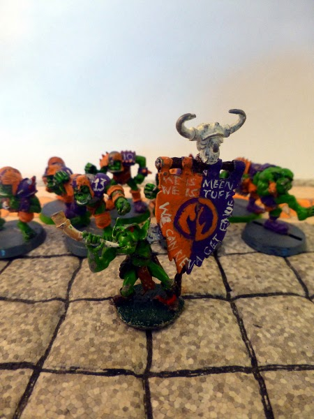Bloodbowl 2nd ed Underdark Dynamos numba wan fan