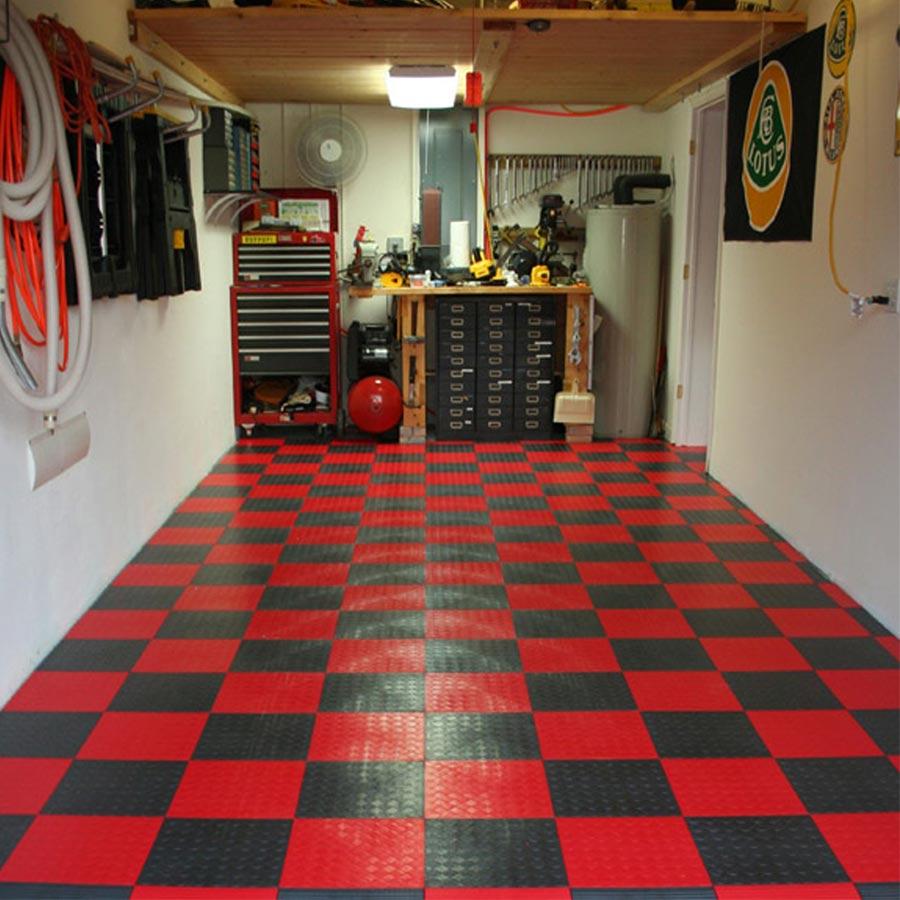 Interlocking Garage Floor Tiles Of The Garage Flooring