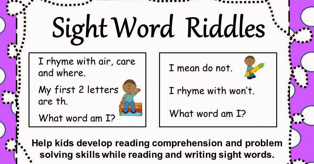 riddles for kids in