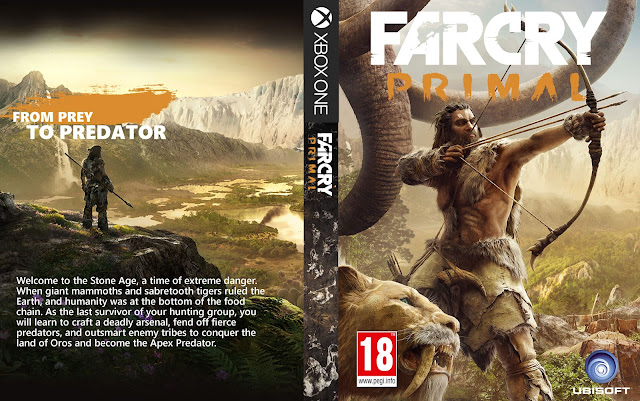 Capa Farcry Primal Xbox One