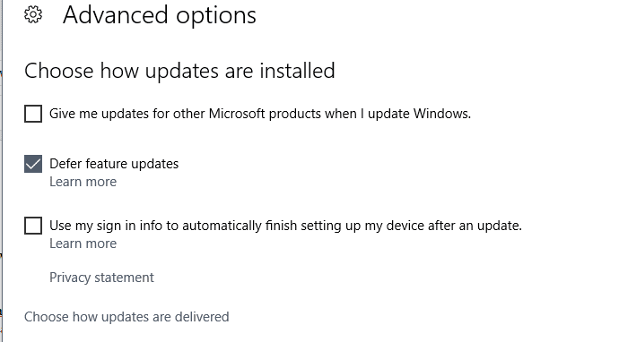 Menonaktifkan Update Windows