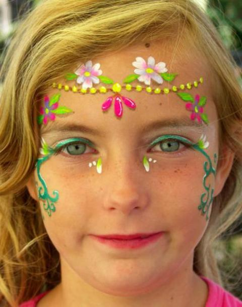 easy face painting ideas for fall face paint ideas