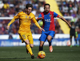 best pictures of messi la liga 2015/2016 February