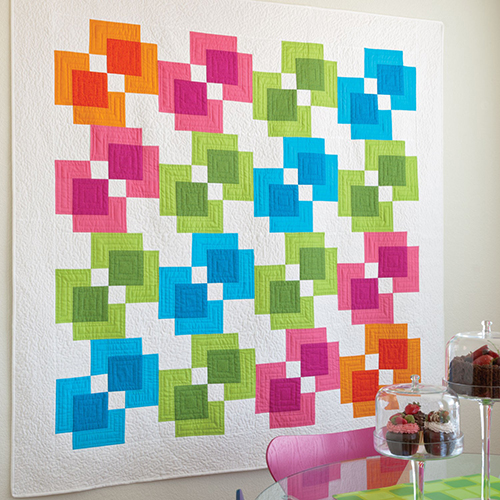 Rectangle Reflection Quilt free Pattern