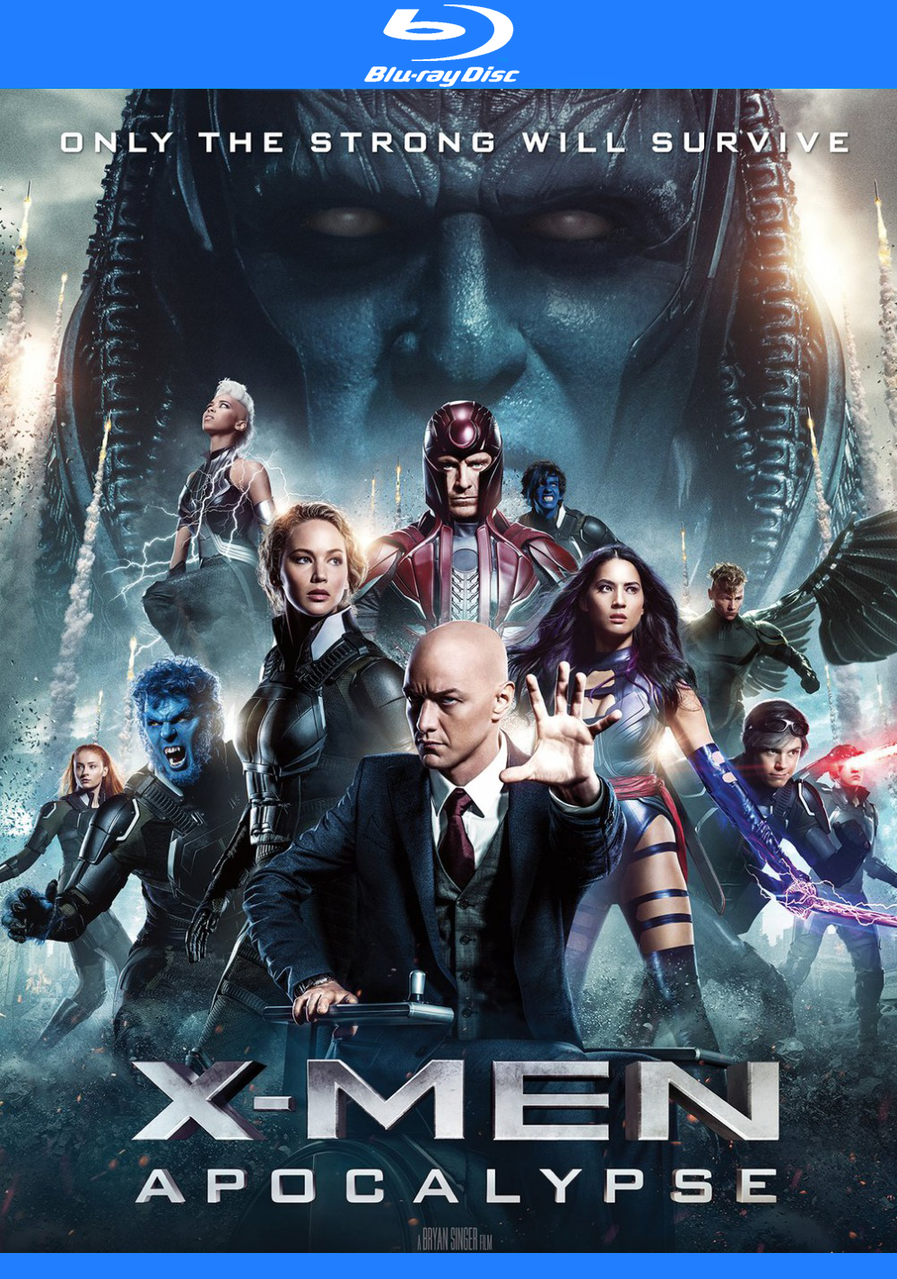 Download X-Men: Apocalipse (2016) - Dublado MP4 720p BDRip MEGA