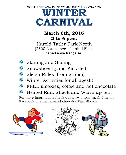 { skate, slide & snoeshow at snpca winter carnival }