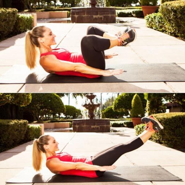 những bài tập thể dục giảm mỡ bụng
