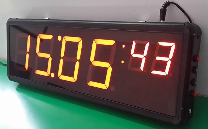 Đồng hồ led hiển thị 6 số - ChipKool