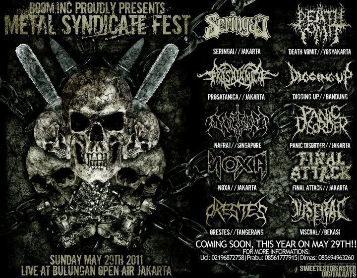 Boom.Inc Proudly Presents METAL SYNDICATE FEST At Bulungan Jakarta
