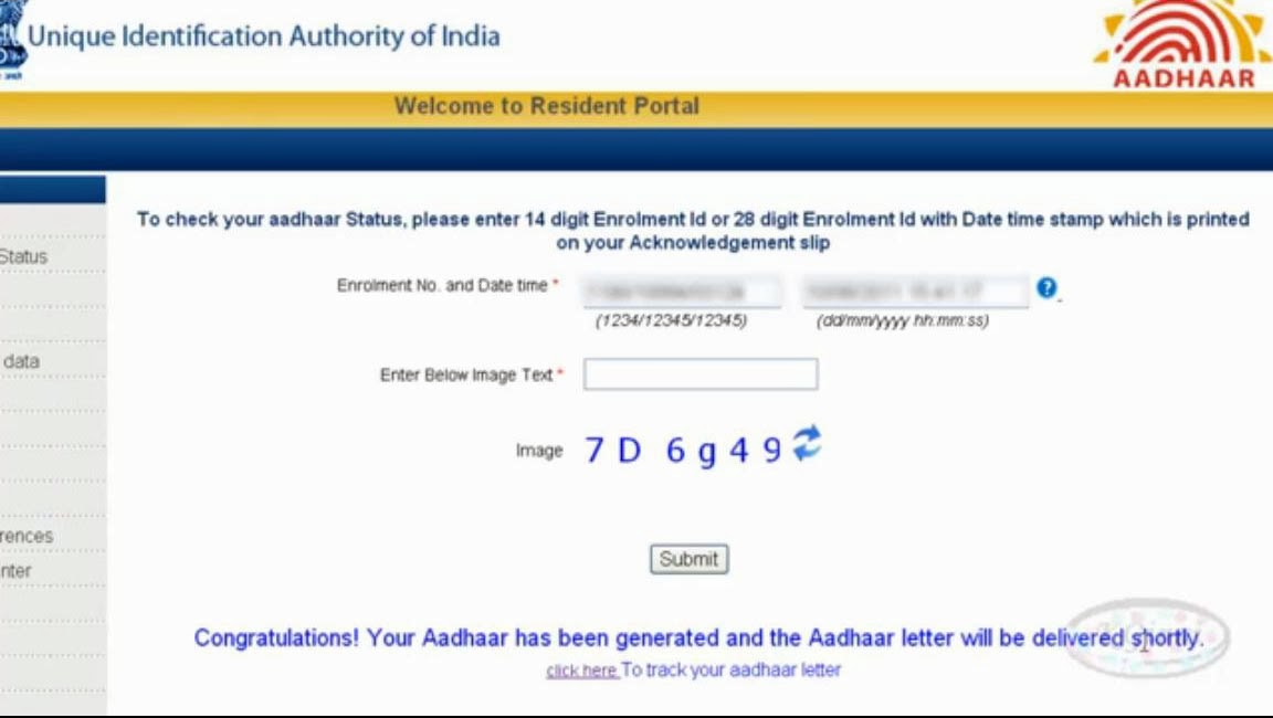 Check your Aadhaar Card Status www uidai gov in How to Find