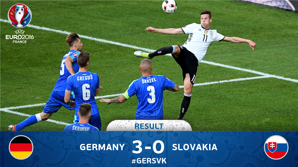 Dominan, Jerman Libas Slovakia 3-0