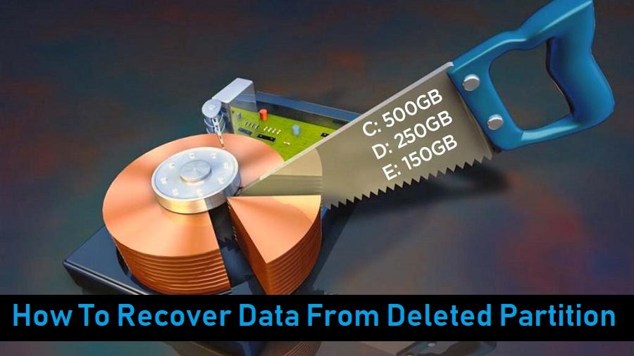 كيفية استعادة البيانات من قسم المحذوفة