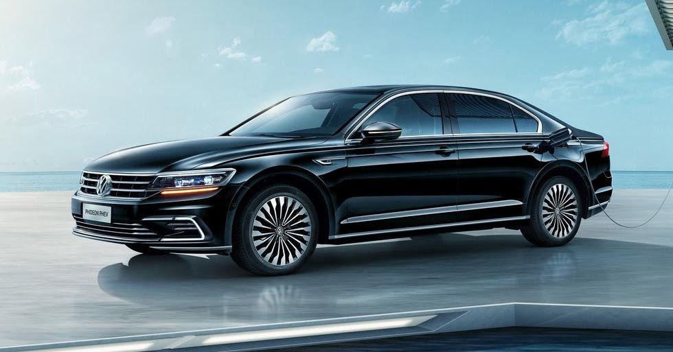 New Volkswagen Phideon Phev Plugs Into Shanghai