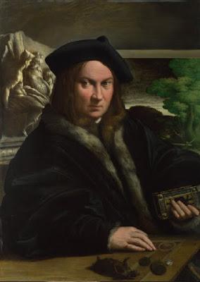 Libro d'Ore Durazzo raffigurato dal Parmigianino