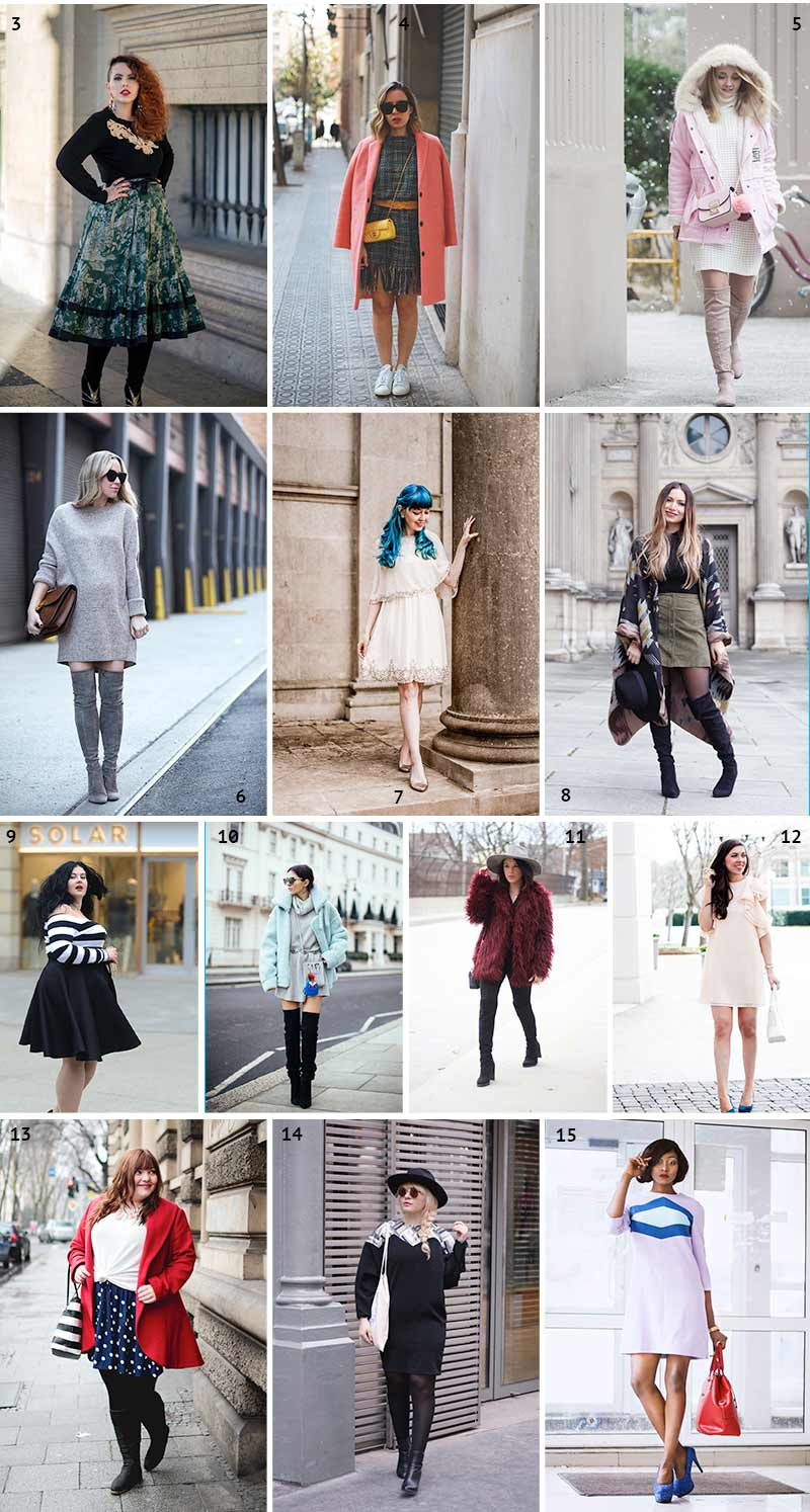 Quoi de neuf sur la blogosphère n°288 - looks de blogueuses