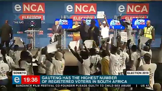TV with Thinus: eNCA town hall election debate in Soweto before 2019