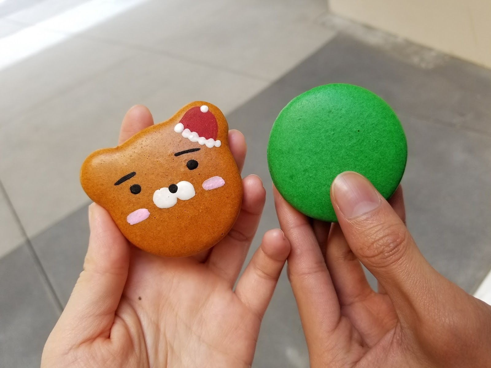 Cute Kakao Character Macarons @ Sweet Box (The Source OC Buena Park)