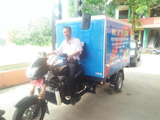 Pegiat Literasi Di Kabupaten Cirebon Dapat Motor Roda Tiga
