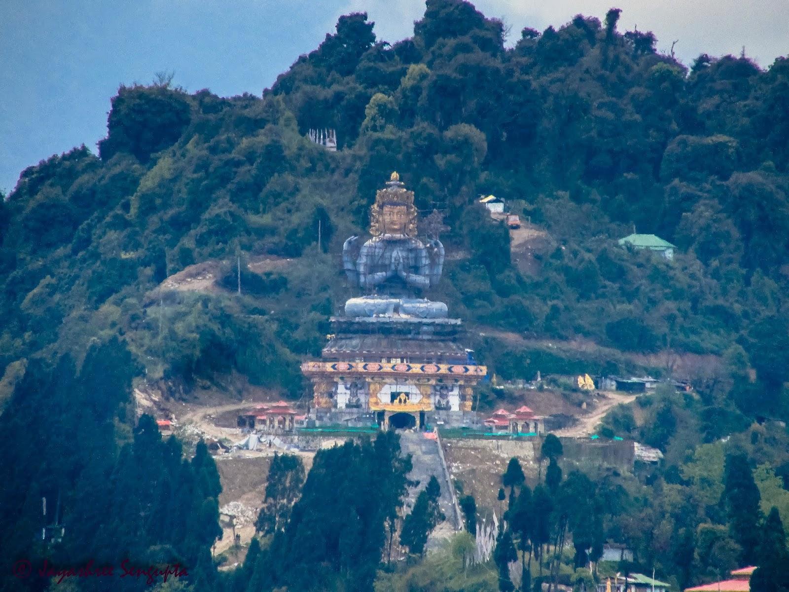 Sanga Choeling Monastery opposite of Pemayangtse Monastery in Pelling Sikkim @DoiBedouin