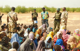 Boko Haram: Troops rescue 998 people, destroy bomb factory [PHOTOS]