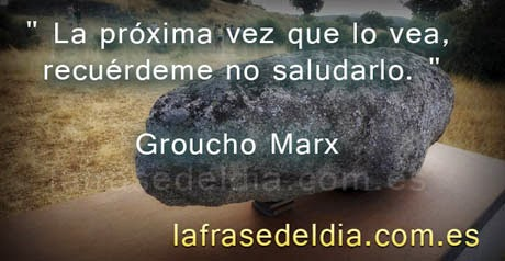 Frases Groucho Marx