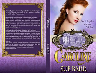 Book cove: Caroline, Pride & Prejudice Continued, Book One by Sue Barr