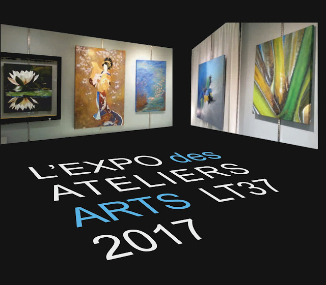 exposition Tours 2017, cours dessin peinture, des Ateliers LT37, st pierre des corps, la ville aux dames, tours, montlouis sur loire, la riche