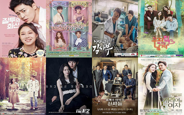 Tanggal 7-13 November 2016 Rating Pemirsa Drama Korea