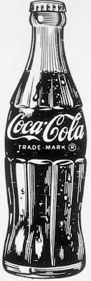 Vintage Coca Cola drawing