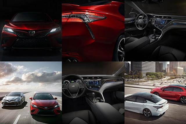 2018 Toyota Camry Rear Wheel Drive
