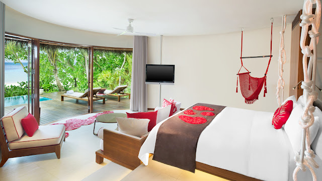 W Maldives, Fesdu Island, Wonderful Beach Oasis Villa, Interior