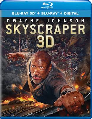 Skyscraper 2018 Blu Ray 3d