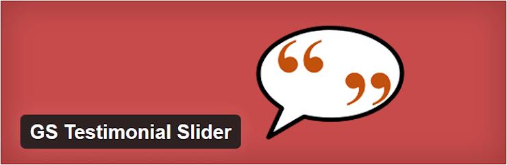 GS testimonial slider plugin