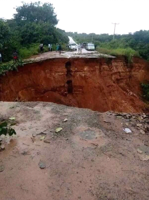 Abia Government Alerts Fed. Government On The Erosion In Isukwuato