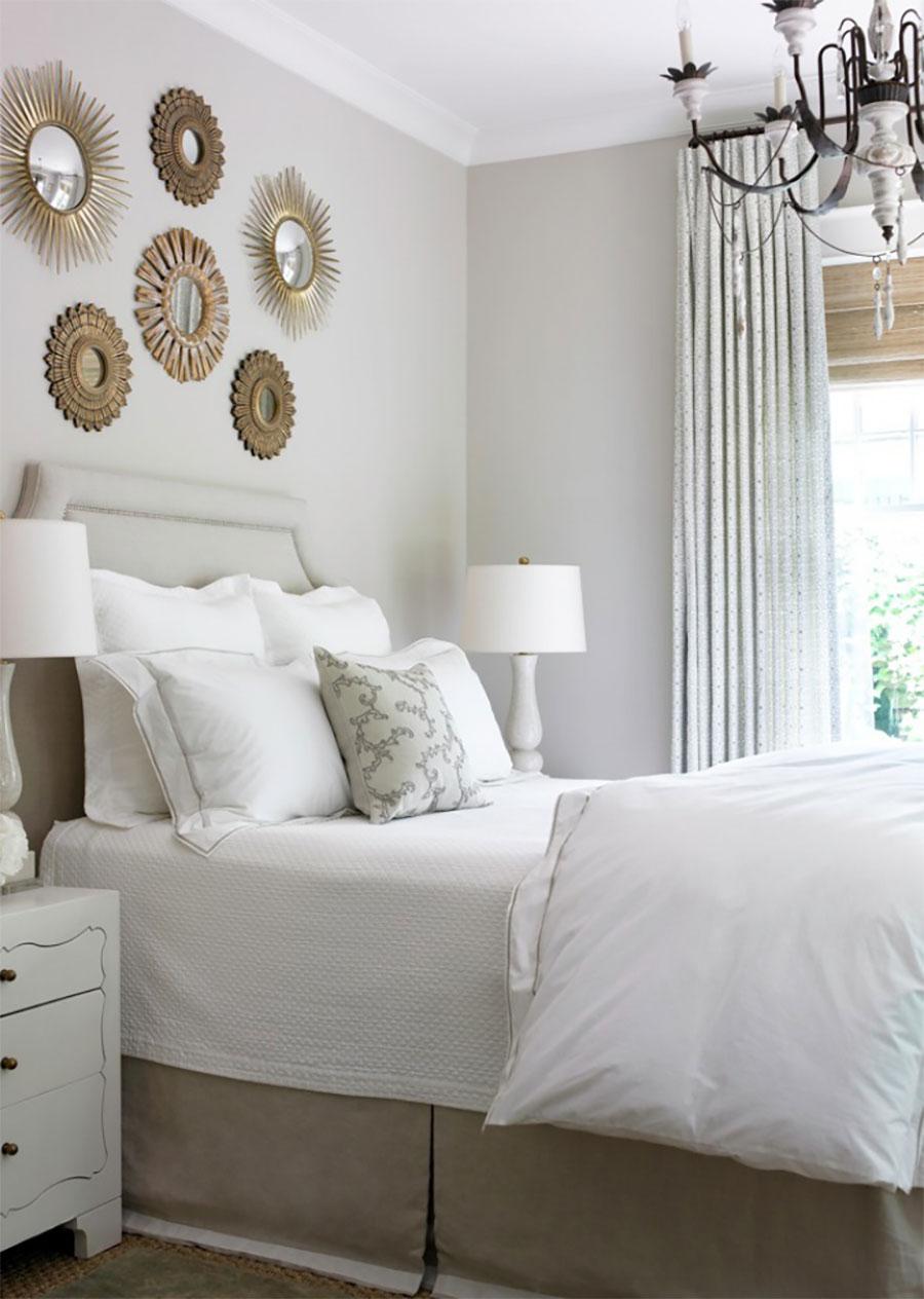 Deco Dormitorios En Blanco Y Dorado A Trendy Life Bloglovin  ~ Habitacion De Matrimonio Blanca