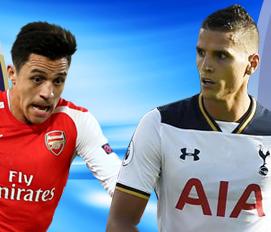 Arsenal vs Tottenham Hotspur Ngày 6/12/2016