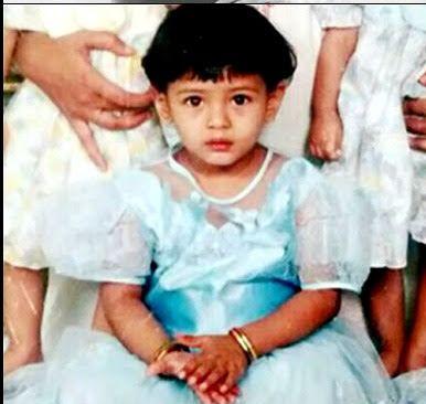 Hebah Patel Childhood Pics