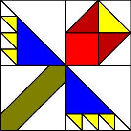 Fun Quilt Pattern Block Tutorial