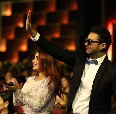 مهرجان الجونة السينمائى, احمد الفيشاوى, بكاء هيستيرى,