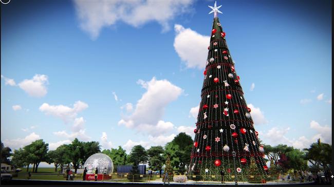 Árvore de Natal do Parque do Ibirapuera Coca-Cola