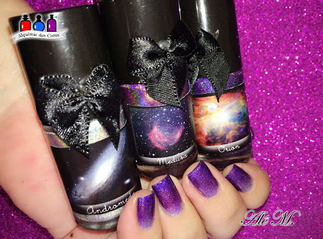 EDK, Coleção Nébulas, Ultra Holo, Andromeda, Orion, Medusa, SB033, Alê M.