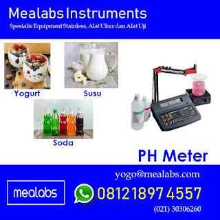 alat uji ph meter