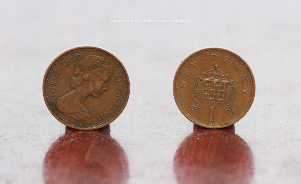 Great Britain coin 1 Penny 1979