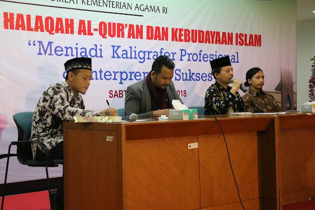 Workshop Menjadi Kaligrafer Profesional dan Entrepreneur Sukses