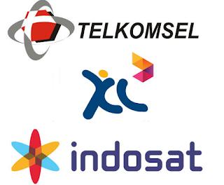 Telkomsel, Indosat, XL