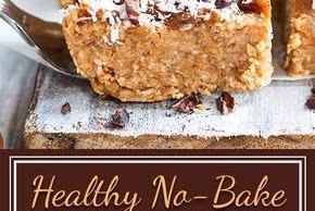 Healthy No-Bake Magic Bars