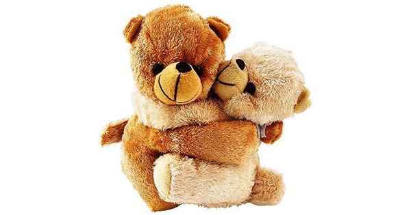 Hugging Teddy Bears Symbols Emoticons