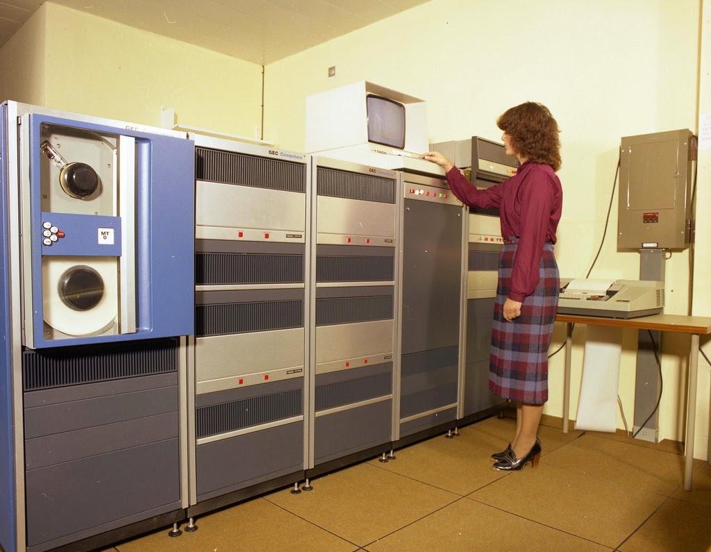Resultado de imagem para computadores da década de setenta