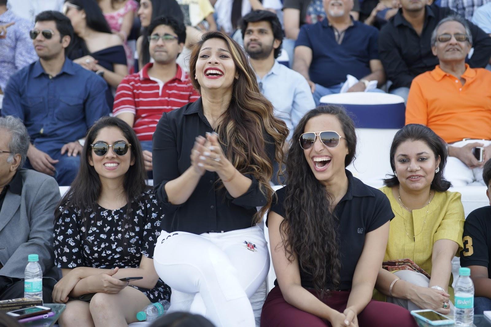 Anusha Dhandekar, Tanisha Mukherjee, Kim Sharma and others at Amateur Riders' Club - Mumbai Polo Season